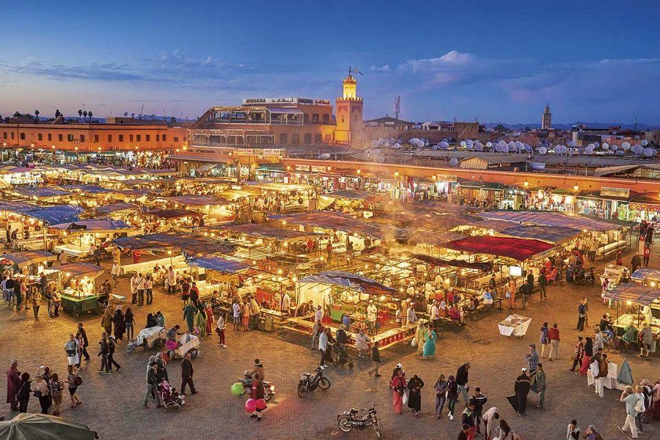 Partir en voyage a Marrakech